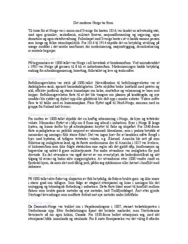 Kap. 13 Det moderne Norge tar form i Alle tiders historie | Sammendrag