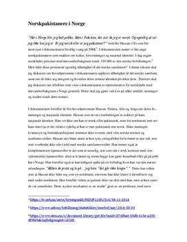 Frivillig tvang | Norskpakistanere om nasjonal identitet