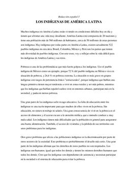Los indígenas de América Latina | Artikkel