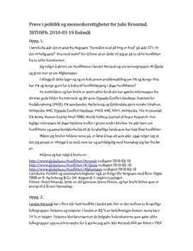Konfliktene i Burundi og terrorgruppen Al-Qaida