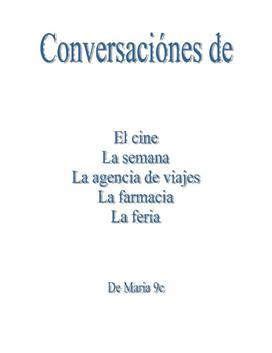 Conversaciónes - samtaler på spansk