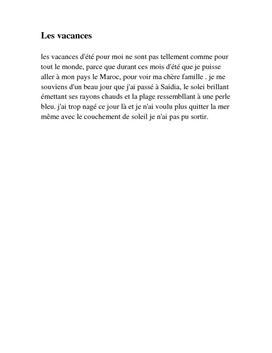 Fransk tekst