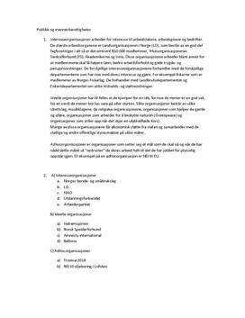 Politikk og menneskerettigheter - Organisasjonskanalen