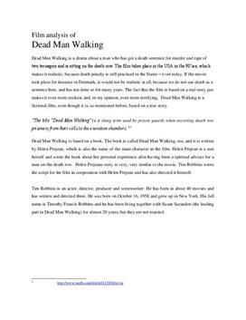 """Filmanalyse av """"Dead Man Walking"""""""