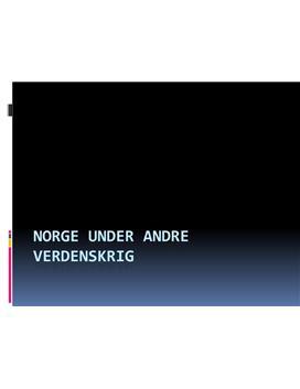 Norge under andre verdenskrig (NS)