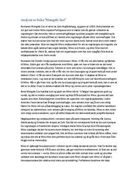 Mengele Zoo | Analyse