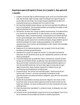Oppgaver   kapitel 6: Styreformer i Europa