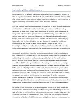Svartedauden og kirken i middelalderen