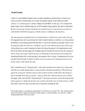 pro capital punishment argument essay example This is probably the most common argument in favor of capital punishment  com/arguments-for-the-death-penalty argumentative essay on the death penalty.