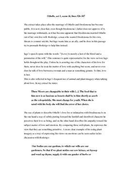 Analyse av Othello