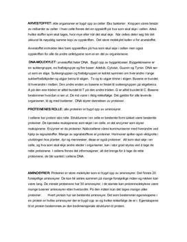 Naturfag notater, DNA,Bioteknologi arvestoff