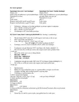 Kjemien Stemmer 1 - Kapittel 8