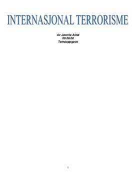 Internasjonal terrorisme