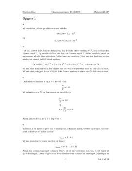 Eksamen i matematikk 2P høst 09