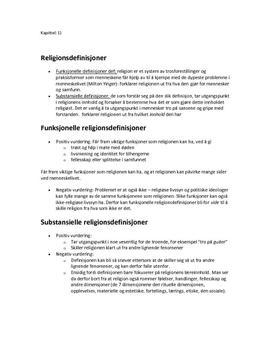 """Sammendrag fra kapittel 1, 2, 3, 4 og 5 av religionsboka """"Tro og Tanke"""""""