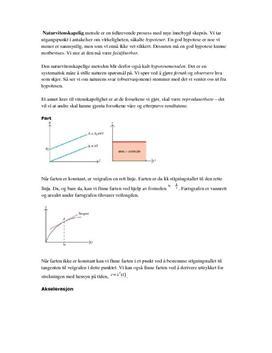 Sammendrag i fysikk