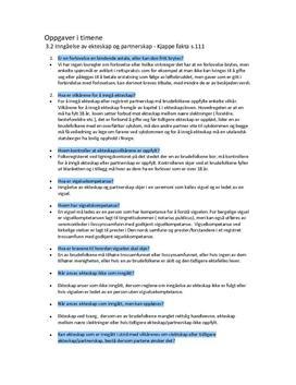 Oppgaver til Rettslære 1 - Kap. 3