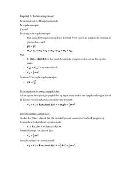 Fysikknotater