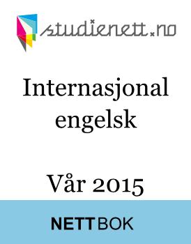 Internasjonal engelsk eksamen | Vår 2015 | Study Guide