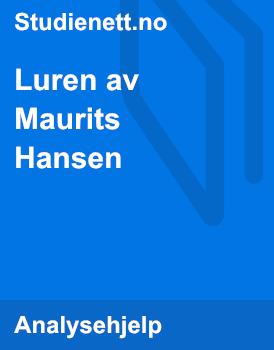 Luren av Maurits Hansen | Analyse