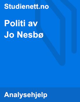 Politi av Jo Nesbø | Analyse