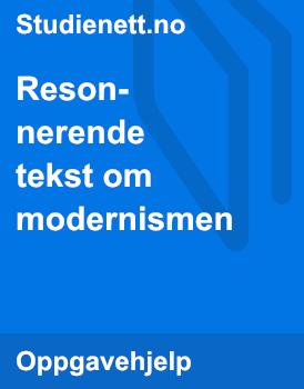 Modernismen | Artikkel