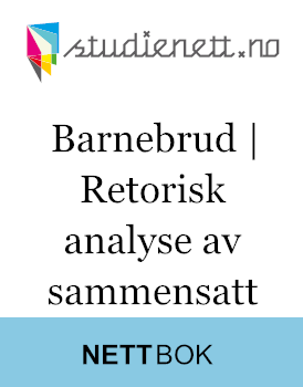 Barnebrud | Retorisk analyse