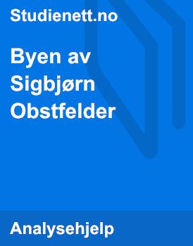 Byen av Sigbjørn Obstfelder | Analyse