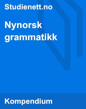 Guide til nynorsk grammatikk