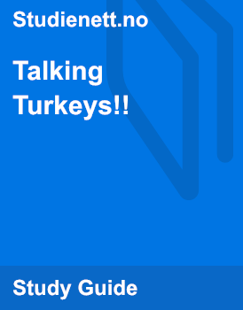 Talking Turkeys | Analysis