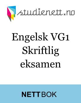 checkliste til skriftlig engelsk.