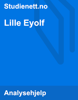 Lille Eyolf | Analyse