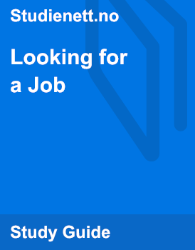 Looking for a Job | Analysis