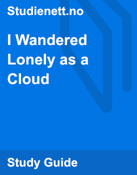 i wandered lonely as a cloud mood
