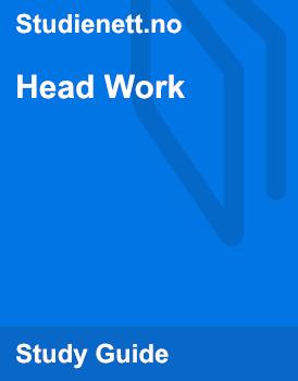 Head Work | Analysis
