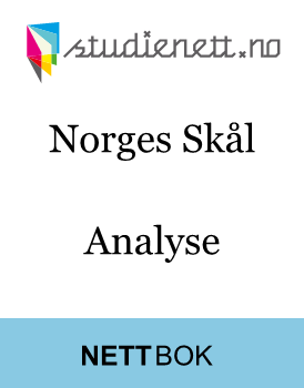 Norges Skål | Analyse