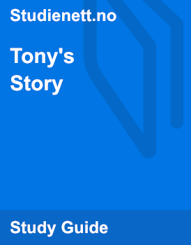 Tony's Story   Analysis