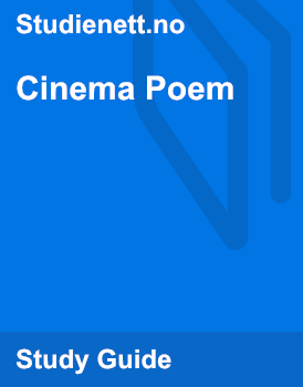Cinema Poem | Analysis