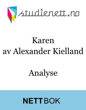 Karen av Alexander Kielland | Analyse
