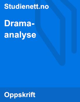 Dramaanalyse | Oppskrift