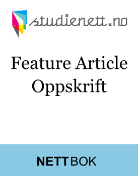 Feature Article | Oppskrift