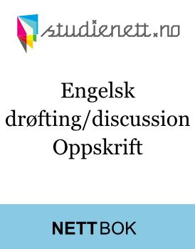 Engelsk drøfting/discussion   Oppskrift