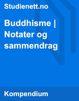 Buddhisme | Notater og sammendrag