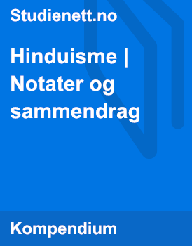 Hinduisme | Notater og sammendrag